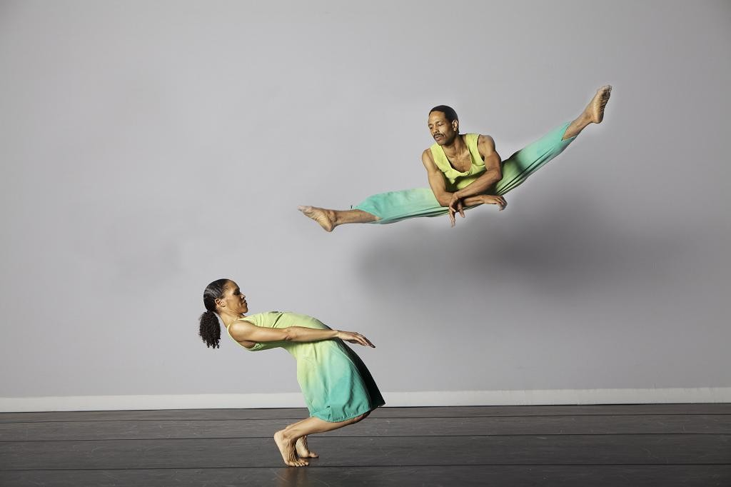 Nicolette Depass and Norwood Pennewell of Garth Fagan Dance Sponsored by DF member Lois Welk