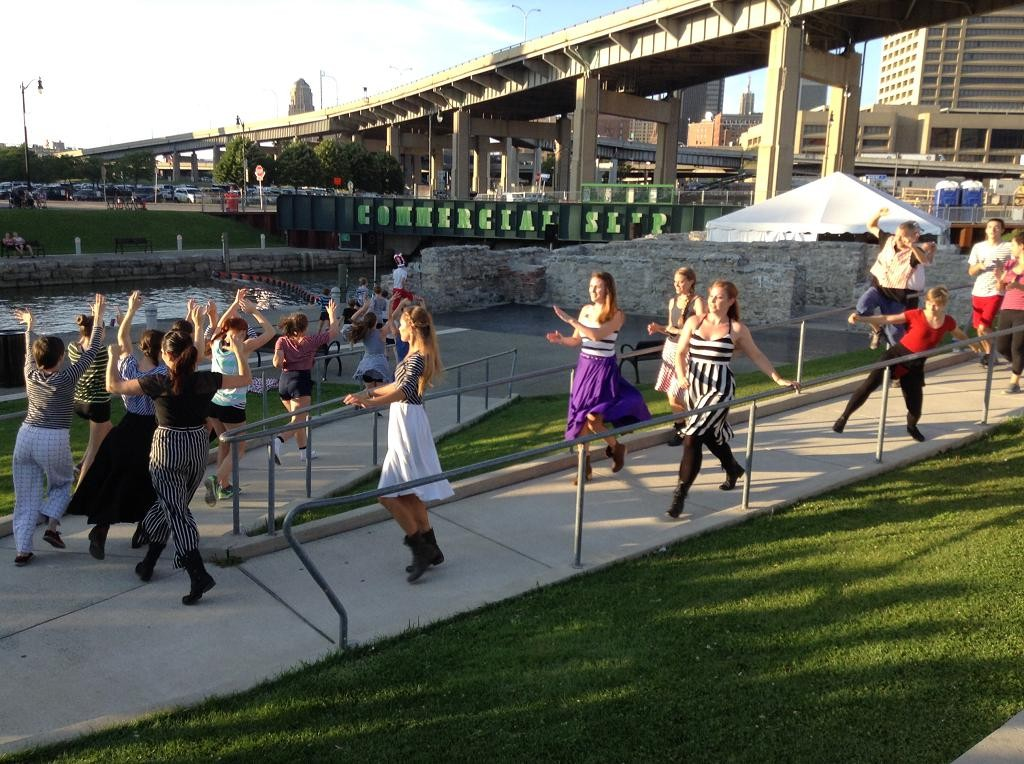 Pick of the Crop Dance's BURNING SPIRITS at Buffalo Canalside Sponsored by DF member Margaret Kaiser