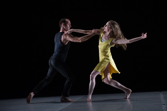 Brian Brooks & Wendy Whelan in FIRST FALL by Brian Brooks Photo by Christopher Duggan