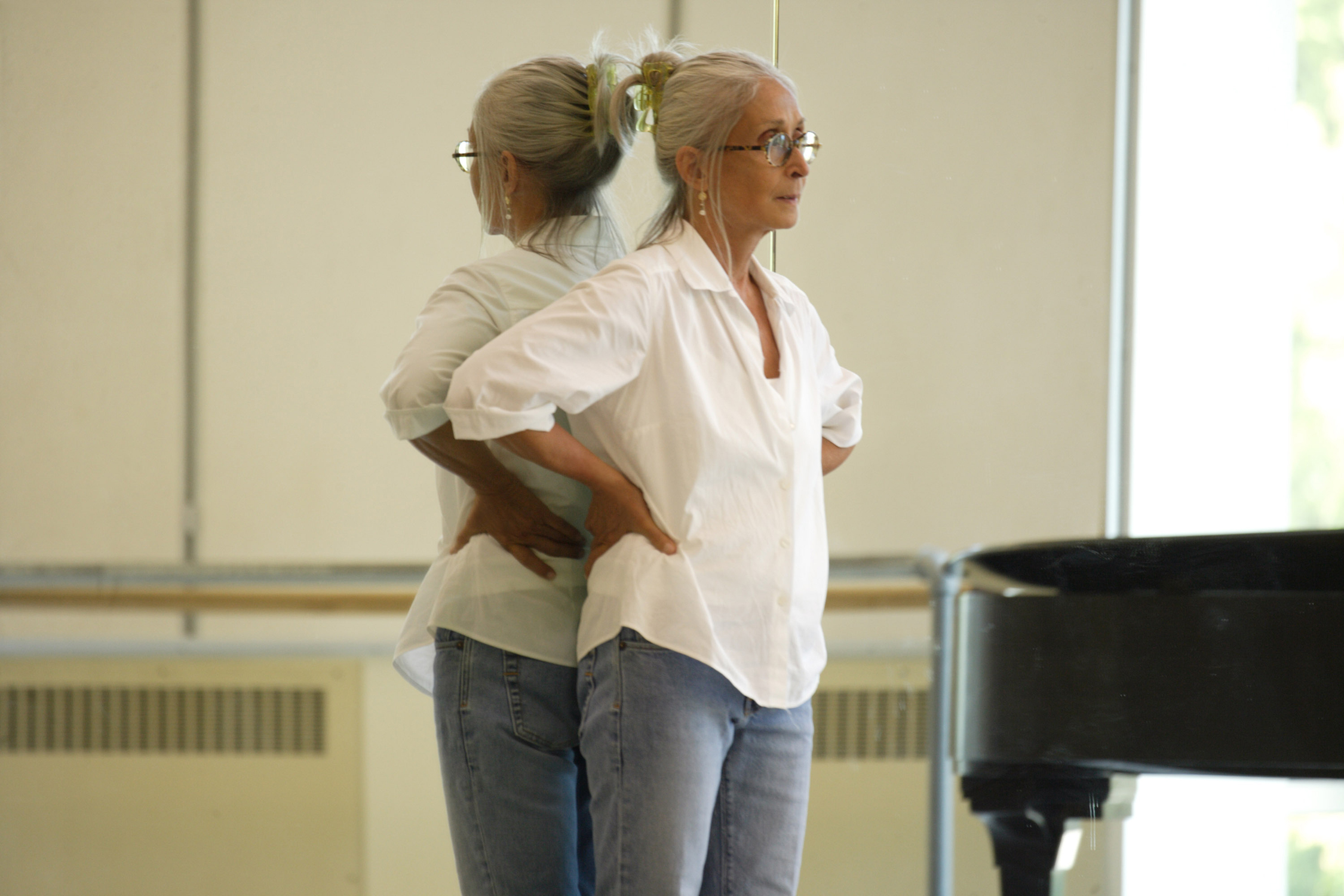 Twyla Tharp Photo by Marc Van Borstel